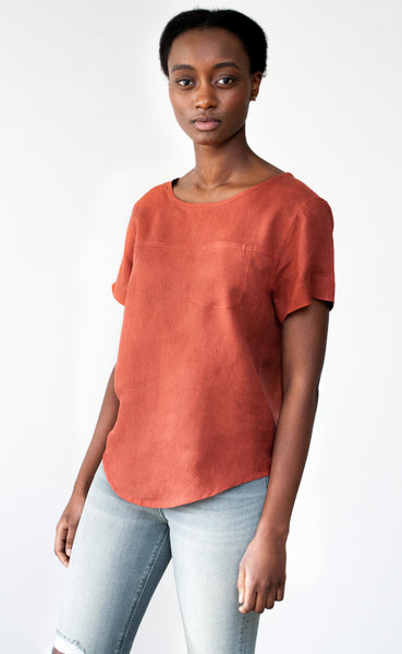 The Femme - Woven Tee