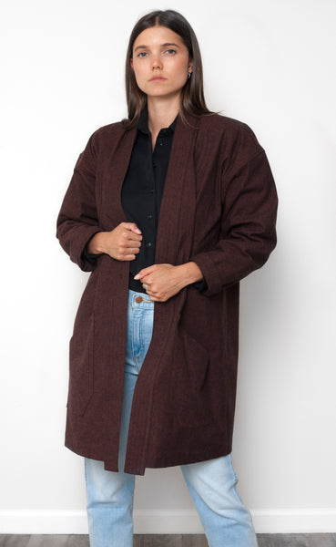 The Restorer - Long Sleeve Duster Coat
