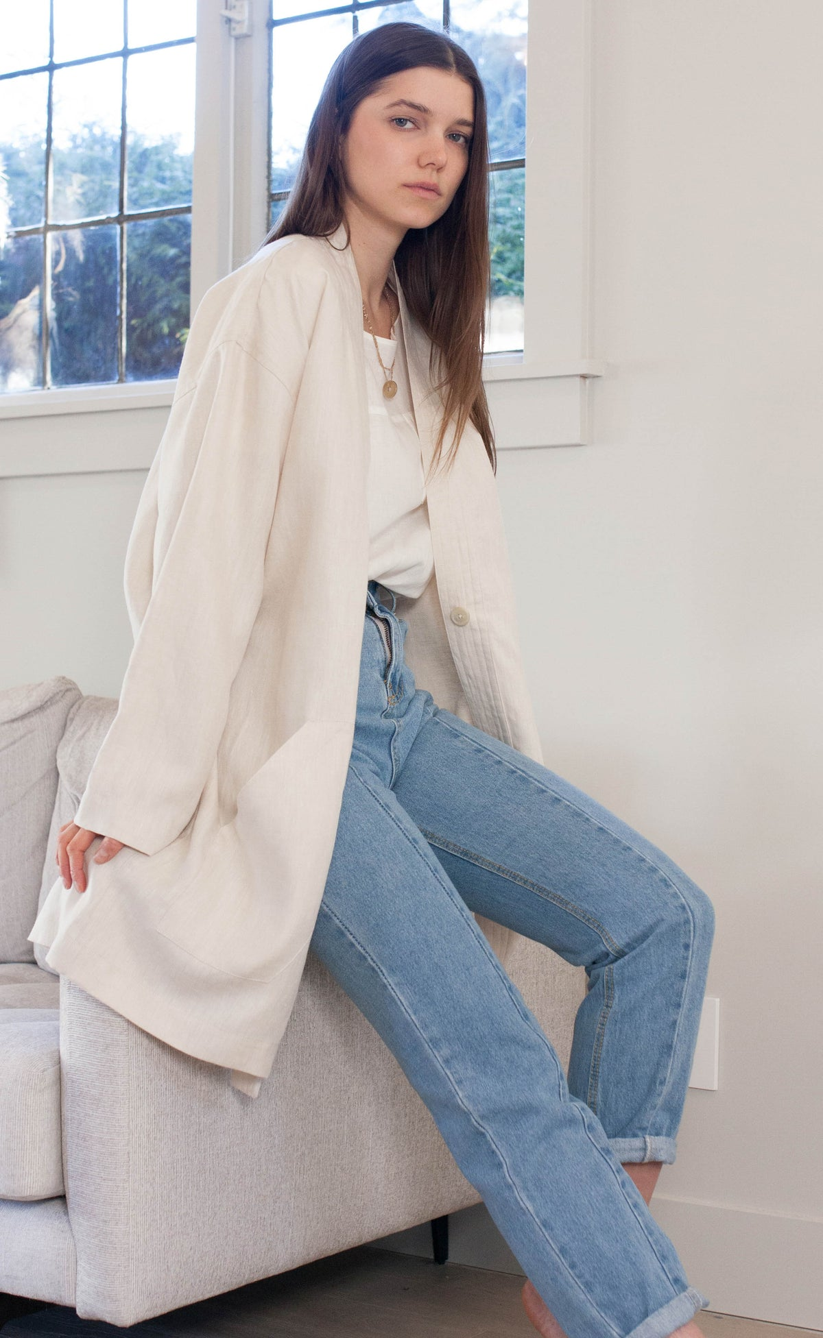 The Savant - Long Sleeve Duster Coat