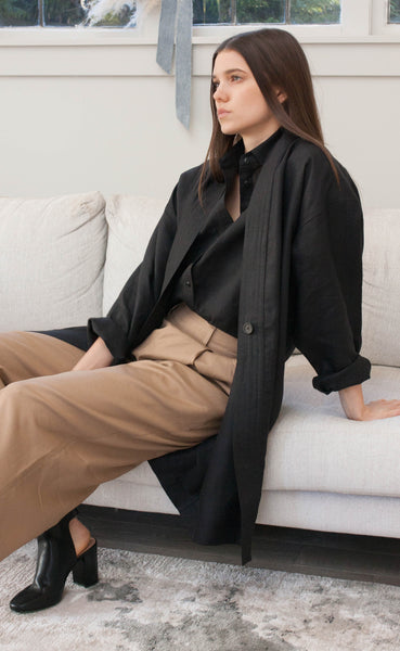 The Curator - Long Sleeve Duster Coat