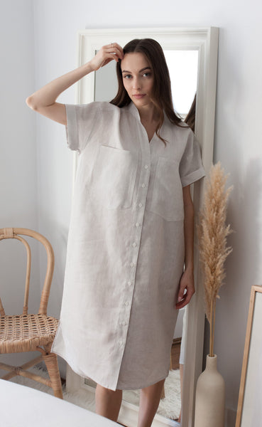 STUDIO Midi Shirt Dress