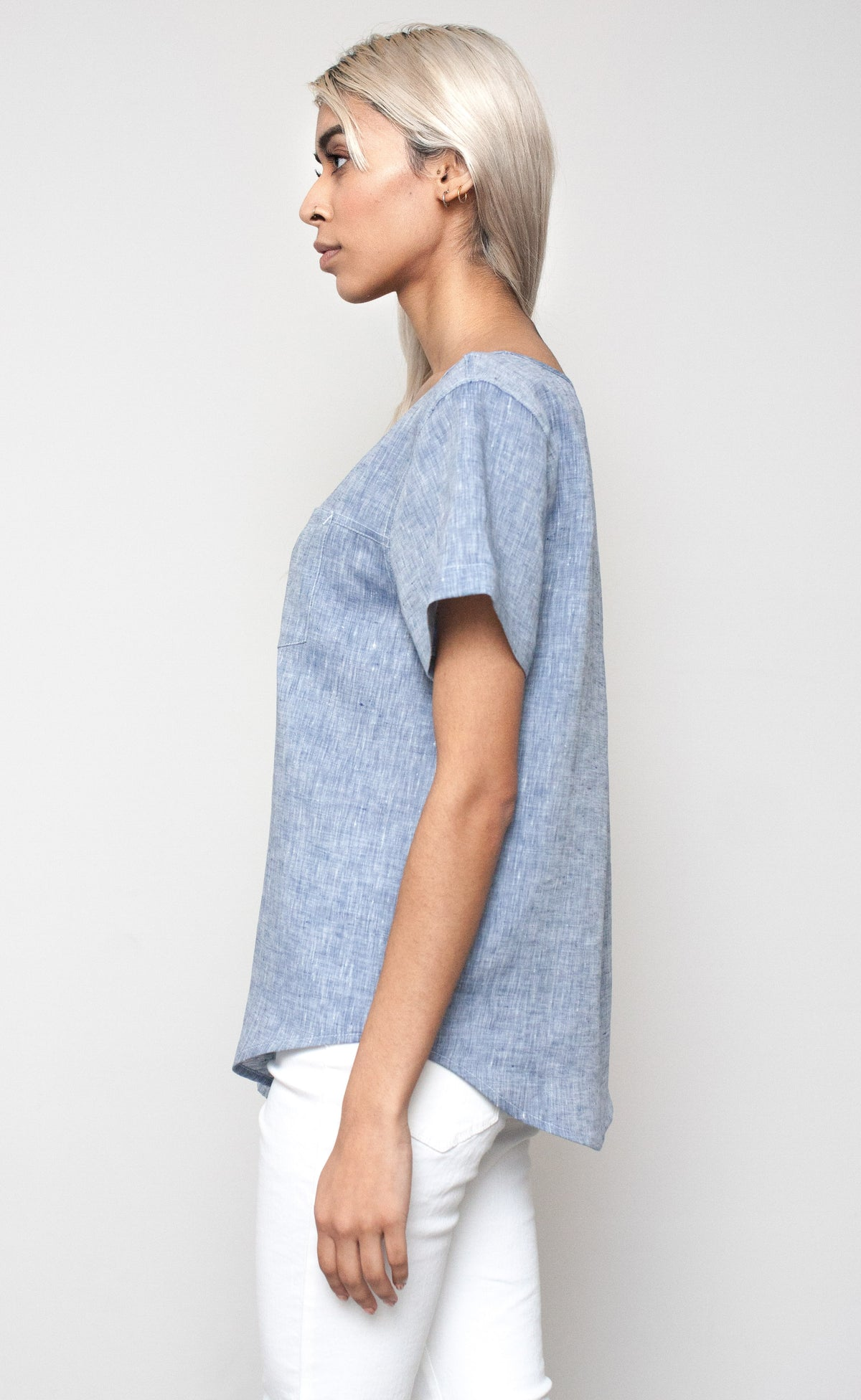 The Pillar - Woven Tee