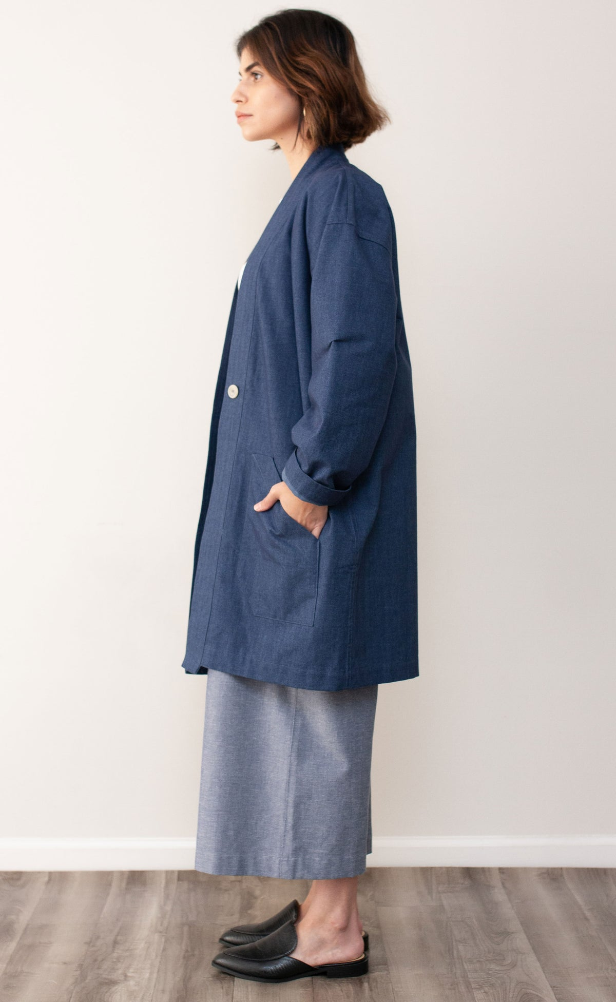 The Creative - Long Sleeve Duster Coat