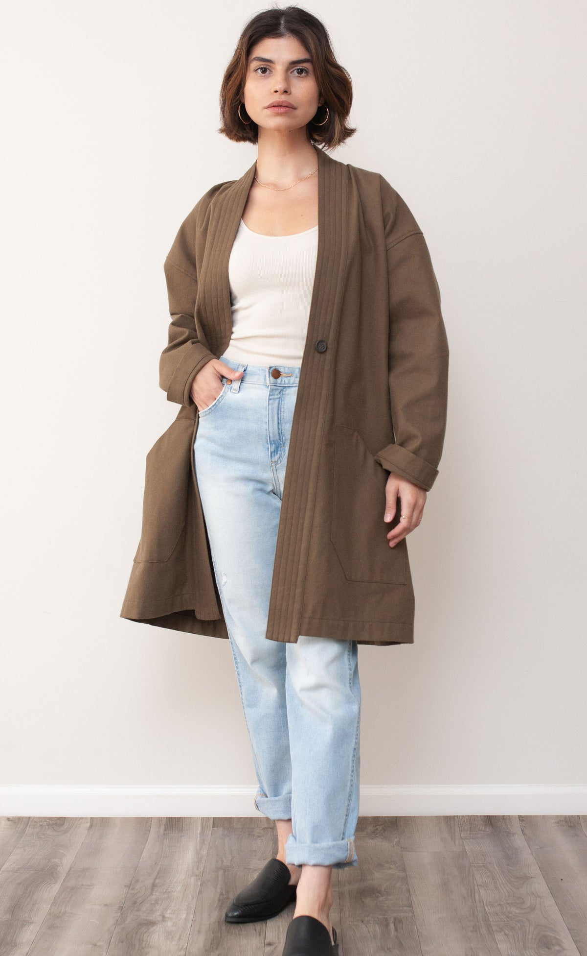 The Fellow - Long Sleeve Duster Coat