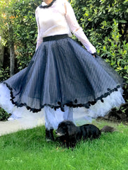 frothy skirt