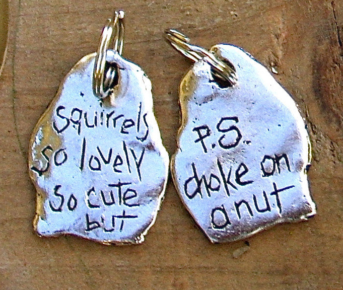 "VT4. ""Squirrels, so lovely, so cute, but,"""