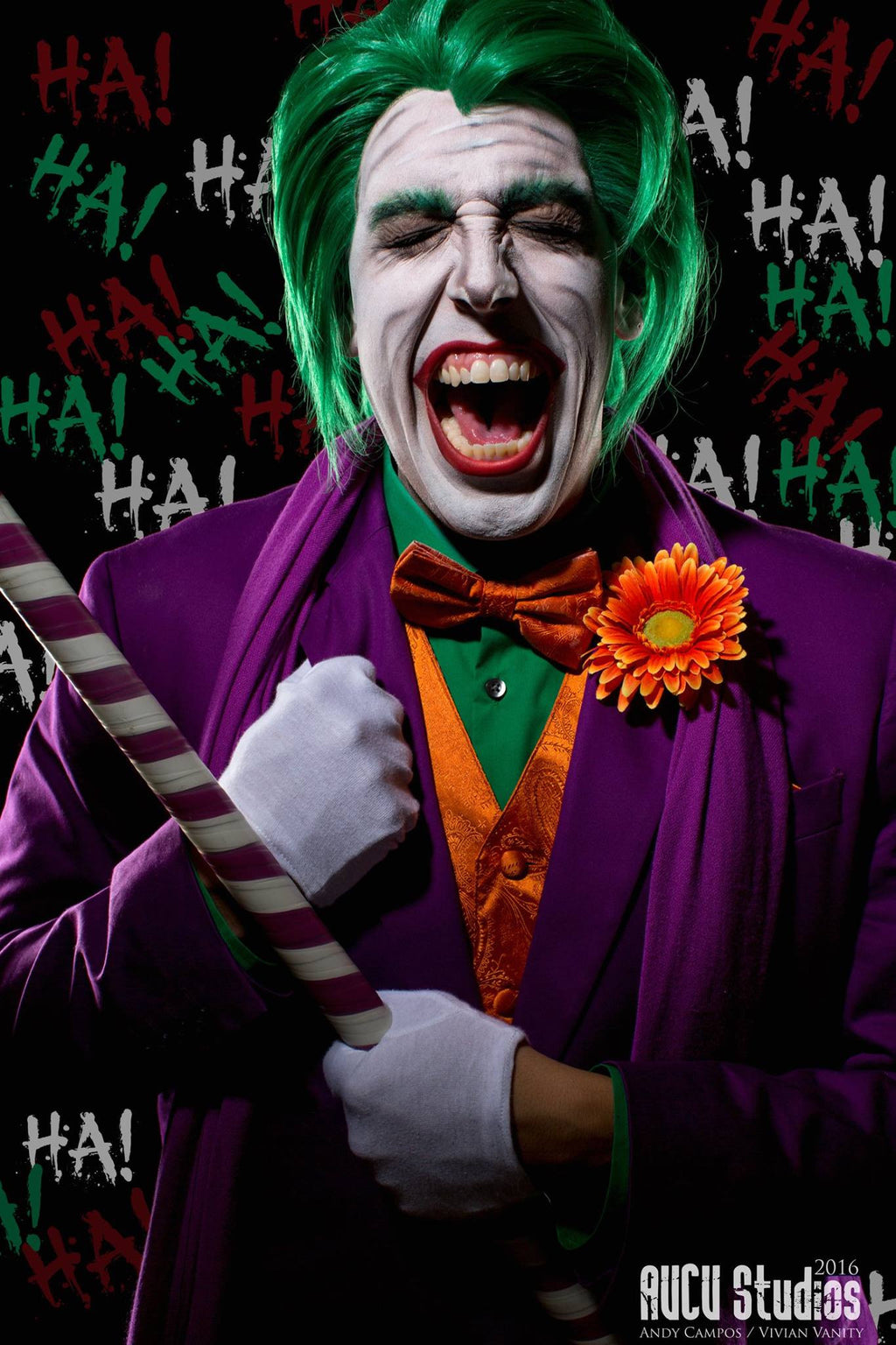 The Joker -Green Lace Front Wig - Penny Dreads & Wigs