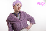 Pastel Pixie- Short Purple Lavender Full Wig - Penny Dreads & Wigs