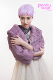 Pastel Pixie- Short Purple Lavender Full Wig