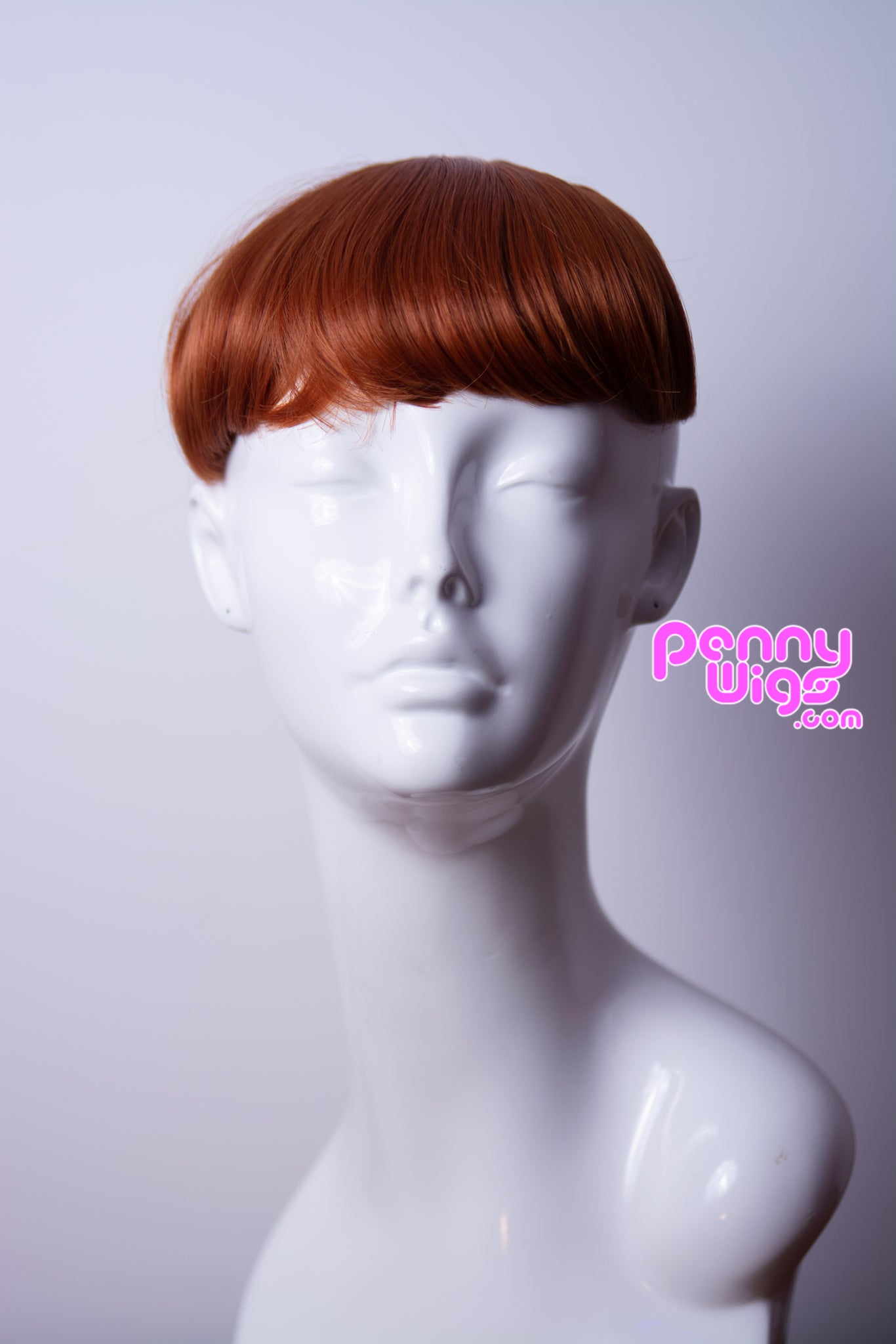Natural Red Clip-In Bangs - Penny Dreads & Wigs