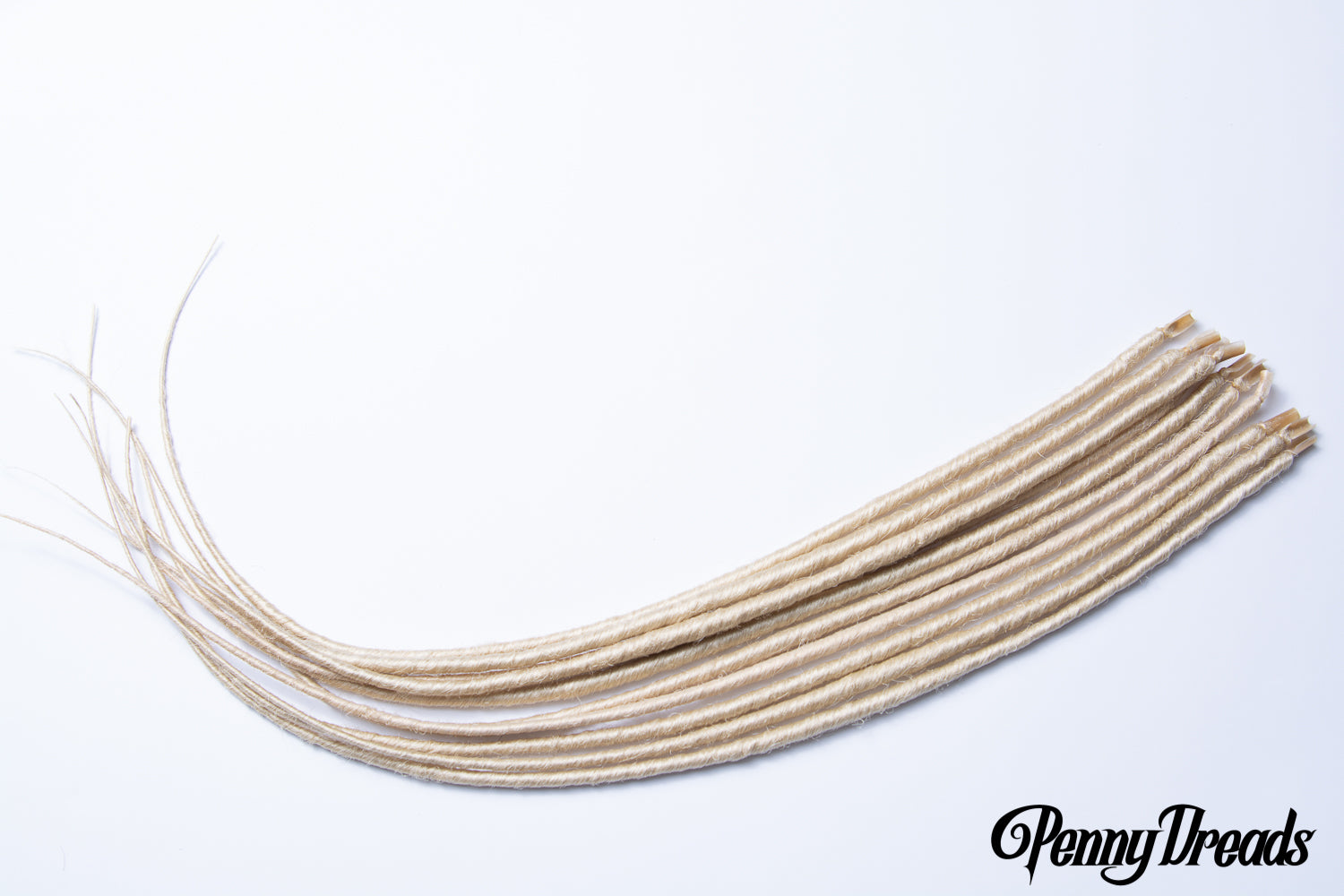 613 Blonde U-Tip Synthetic Dreadlocks (10 pieces) - Penny Dreads & Wigs