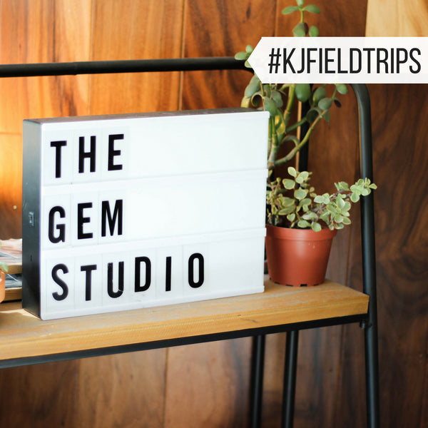 #KJfieldtrip at The Gem Studio