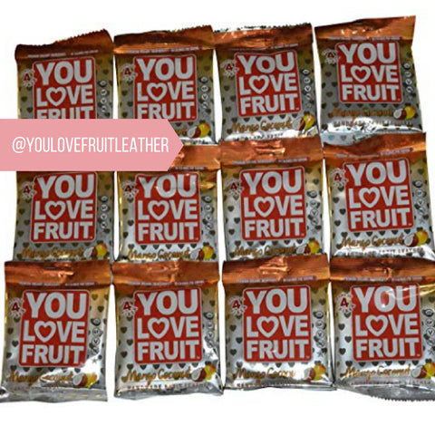 Yummy natural and healthy You Love Fruit Leather