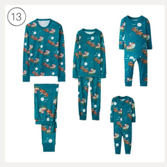 2019 Gift Guide for the Mom with Minis - Hanna Andersson matching pj sets