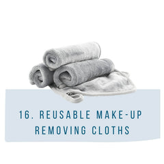 reusable make-up removing cloths