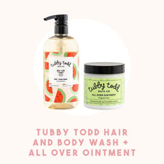 Tubby Todd Hair + Body Wash and Tubby Todd All Over Ointment