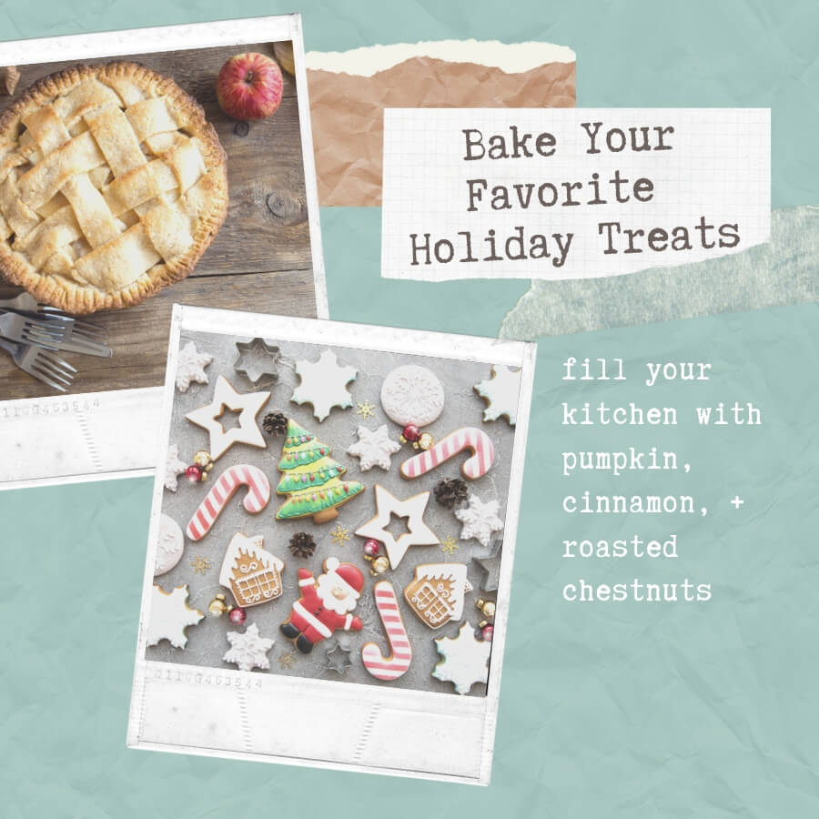 bake you favorite holiday treats