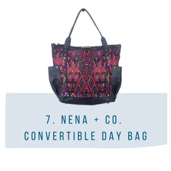 nena and co convertible day bag