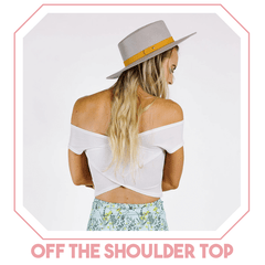 kortni jeane off the shoulder top