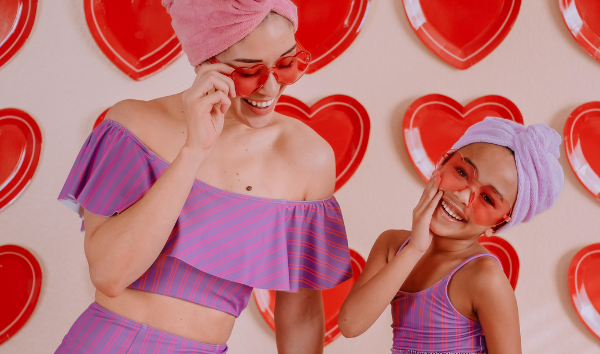 Valentines Day With Kortni Jeane Mix n' Match Swimmers