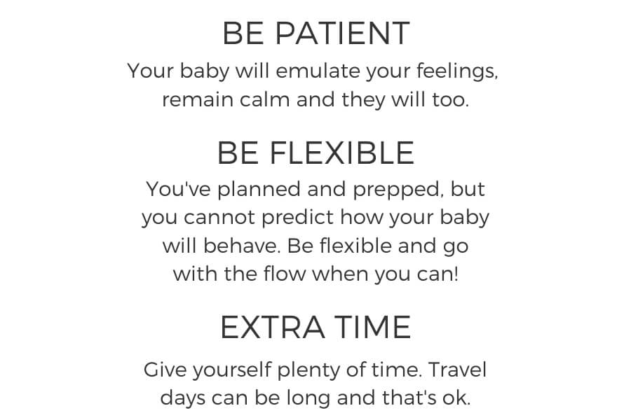 Travel Tips with a baby intro
