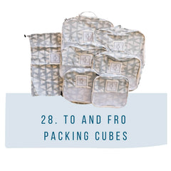 To and Fro packing cubes