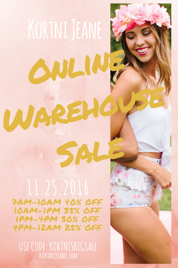 Kortni Jeane Warehouse Sale