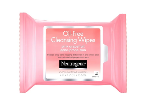 Neutrogena Facial Cleansing Wipes in Grapefruit