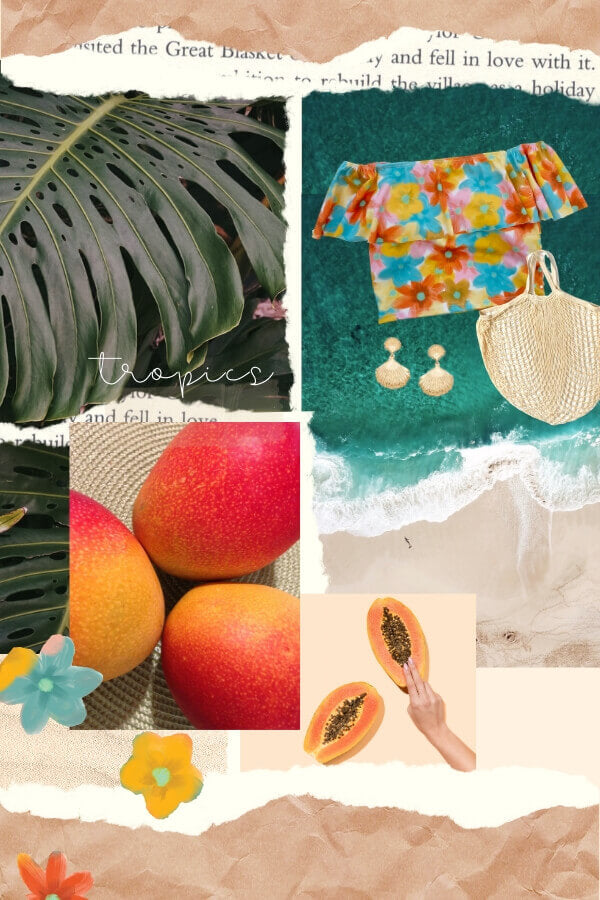 Tropical Vision Board