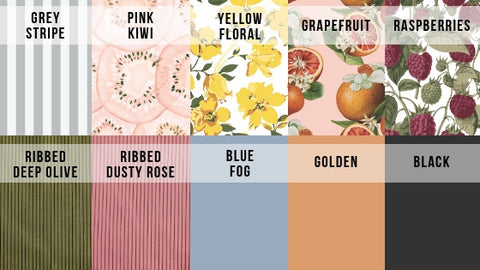 2019 Fruit Collection Website Color Swatch