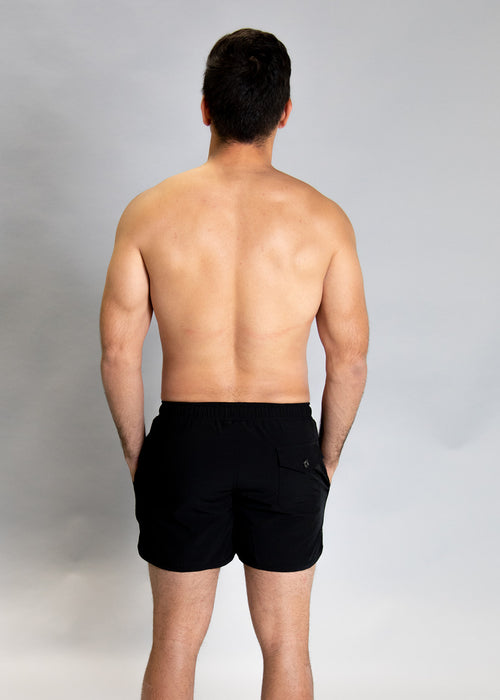 Mens Swimsuit - Shorts - Black