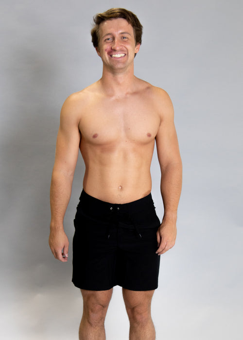 Mens Swimsuit - Trunks - Black