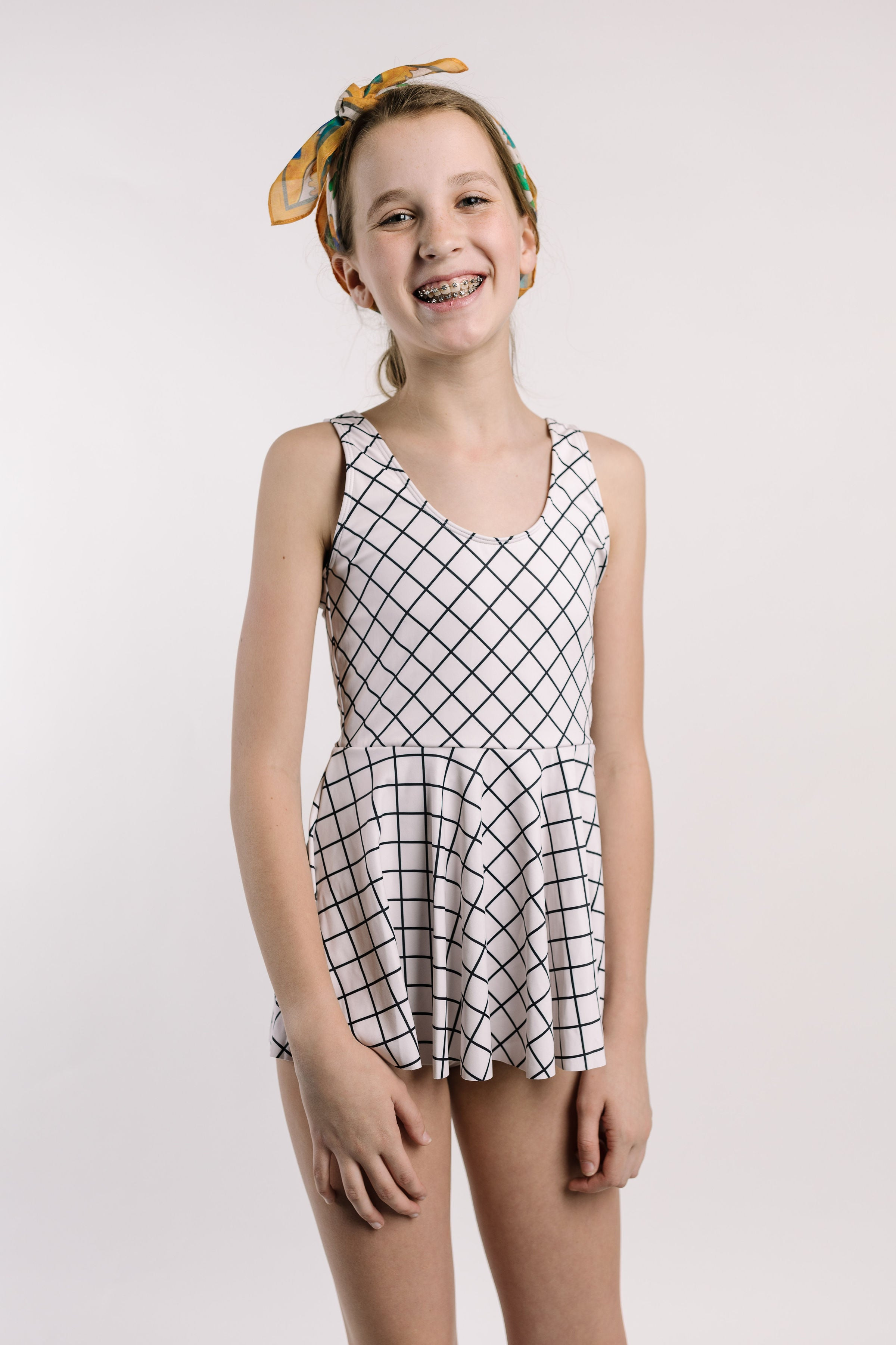 Youth Skirted One-Piece