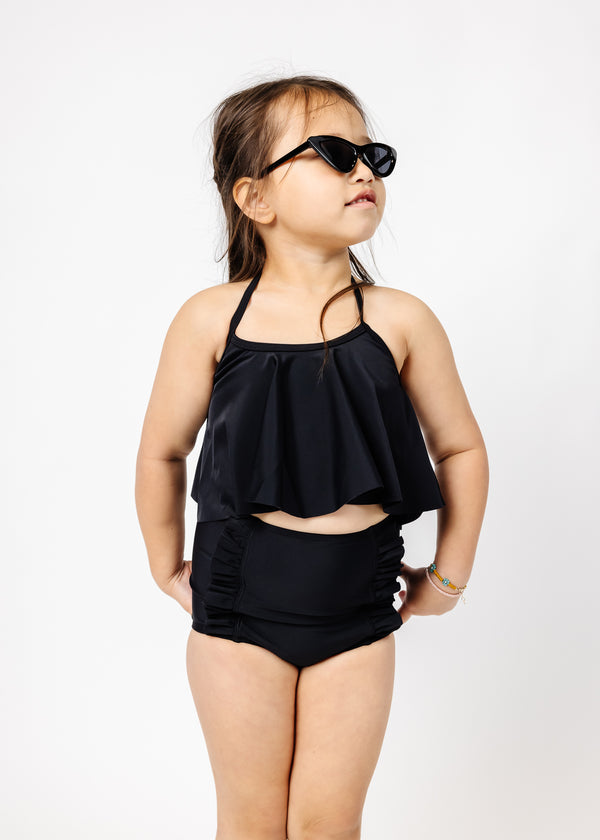 Mini Swing Top | Solid Black