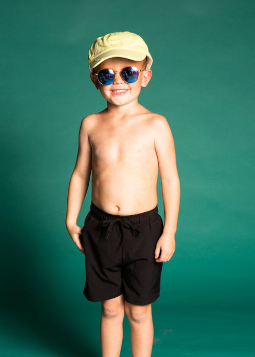 Boys Swimsuit - Trunks  - Black