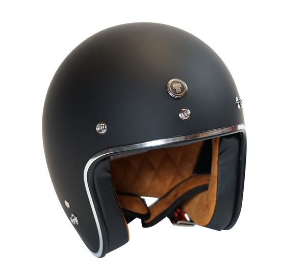 Torc - T50 Open Face Helmet [Flat Black]