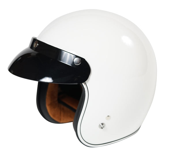 Torc - T50 Open Face Helmet [White]