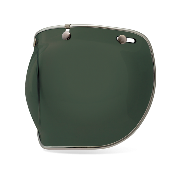 Bell Helmet's bubble shield deluxe for wind and bug protection in Wayfarer Green