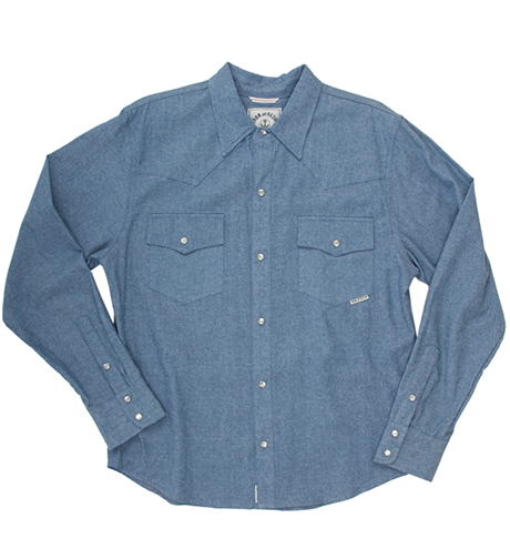 INR Guthrie Shirt - Light Indigo