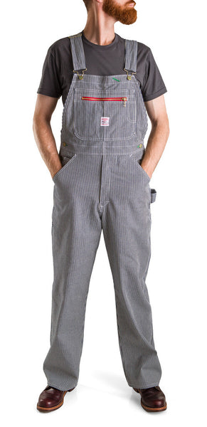Pointer Brand - Hickory Stripe High Back Overall