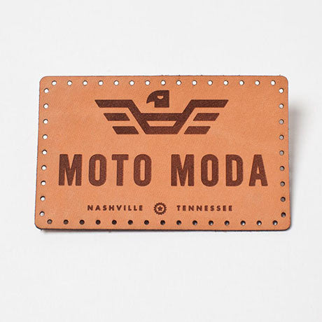 Moto Moda Leather Logo/Nashville Patch