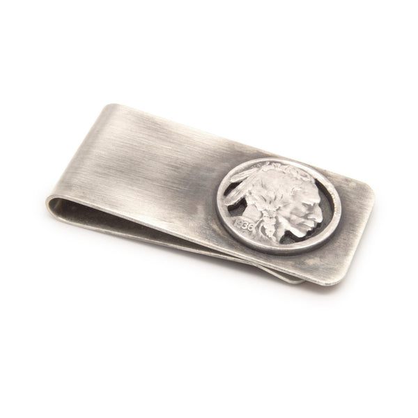 Silver Piston - Money Clip-Indian
