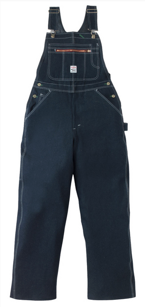 Rigid Indigo High Back Overalls - Pointer Brand