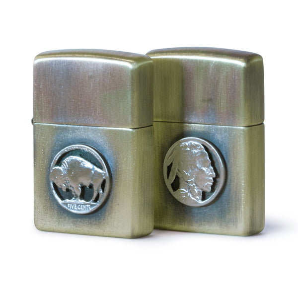 Silver Piston - Zippo Lighter [Buffalo]