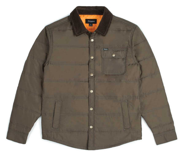 Css Jacket - Olive Brown