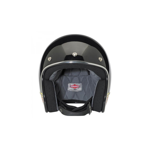 Biltwell Bonanza Helmet - LE Spectrum - Black/Orange