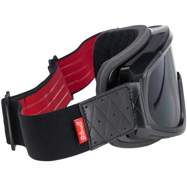 Overland Goggles - Black/Red