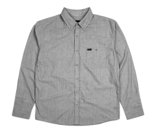 Brixton Heather Central L//S Heather Grey