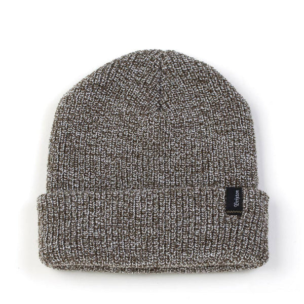 Brixton Heist Beanie - Olive Heather