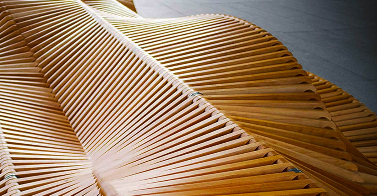 UILIUILI BENCH by Piotr Żuraw-PARIDEO design durable